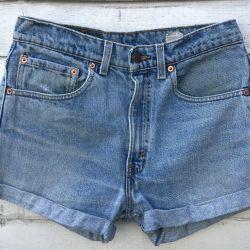 Vintage Levi 505 Turned Up Shorts Waist 31