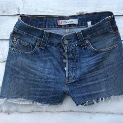 Vintage Levi 512 Cut Off Shorts Waist 30