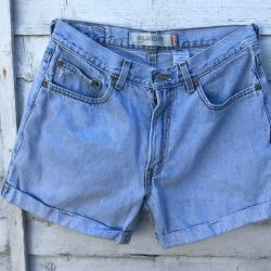 Vintage Levi 512 Cut Off Shorts Waist 31