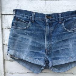 Vintage Levi 611 Turned Up Shorts Waist 31