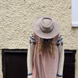 Vintage Southwestern Wool wide brimmed Hat
