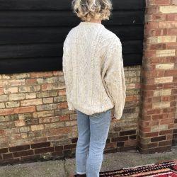 Vintage Wool Marl Chunky Knit