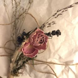 Wild As Folk Hand Tied Dried Posy