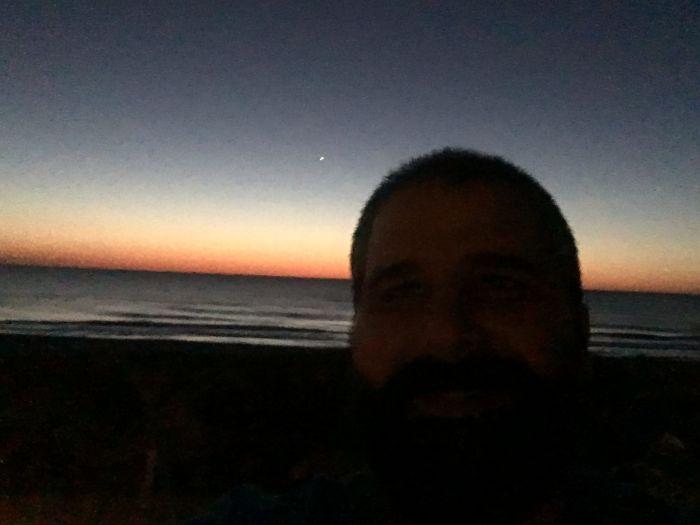 ocean city sunrise silhouette