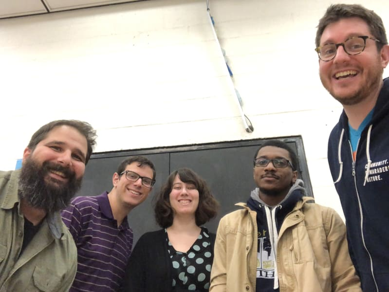 homebrew website club baltimore 2018-12-11 meetup photo at digital harbor foundation