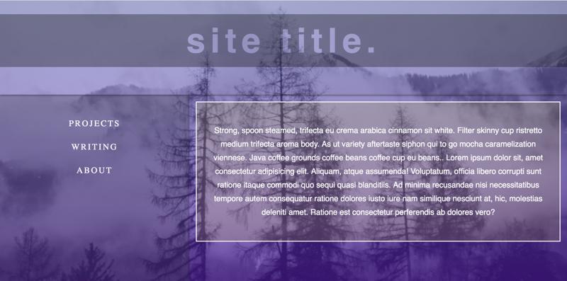 translucent desktop layout screenshot
