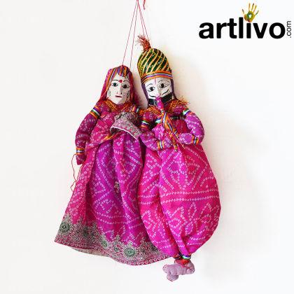 POPART Pink Chundari Kathputli Puppet 18