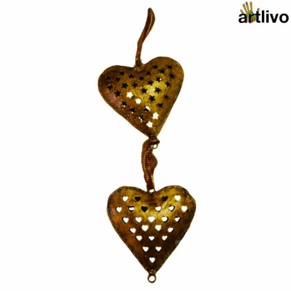 BLING Heart Wall Hanging