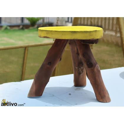 POPART Tri Stool Yellow