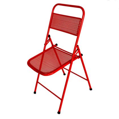 Red Folding Designer Multipurpose Chair