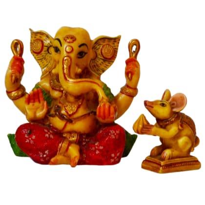 Ganesha & Mooshak (Mouse) Combo