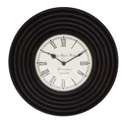 MAPLE Ripple Round Wall Clock 12