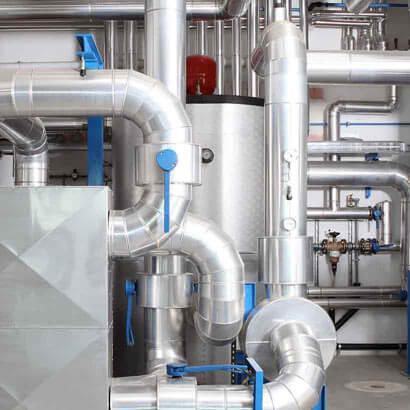 Wartung, Reparatur und Instandhaltung von Druckhalteanlagen, Nachspeiseanlagen und Entgasungsanlagen aller Fabrikate