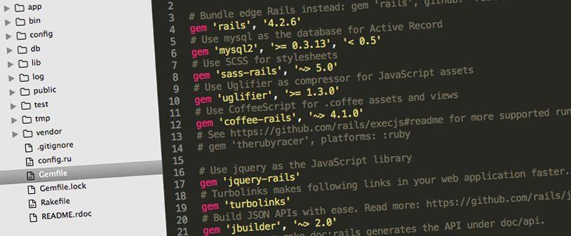Rails 4 Directory Structure - Josef Zacek
