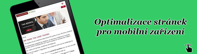 Optimalizace stránek pro mobilní zařízení