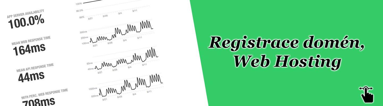 Registrace domén a Web Hosting