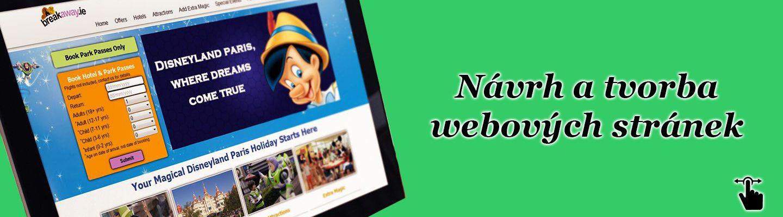 Návrh a tvorba webových stránek