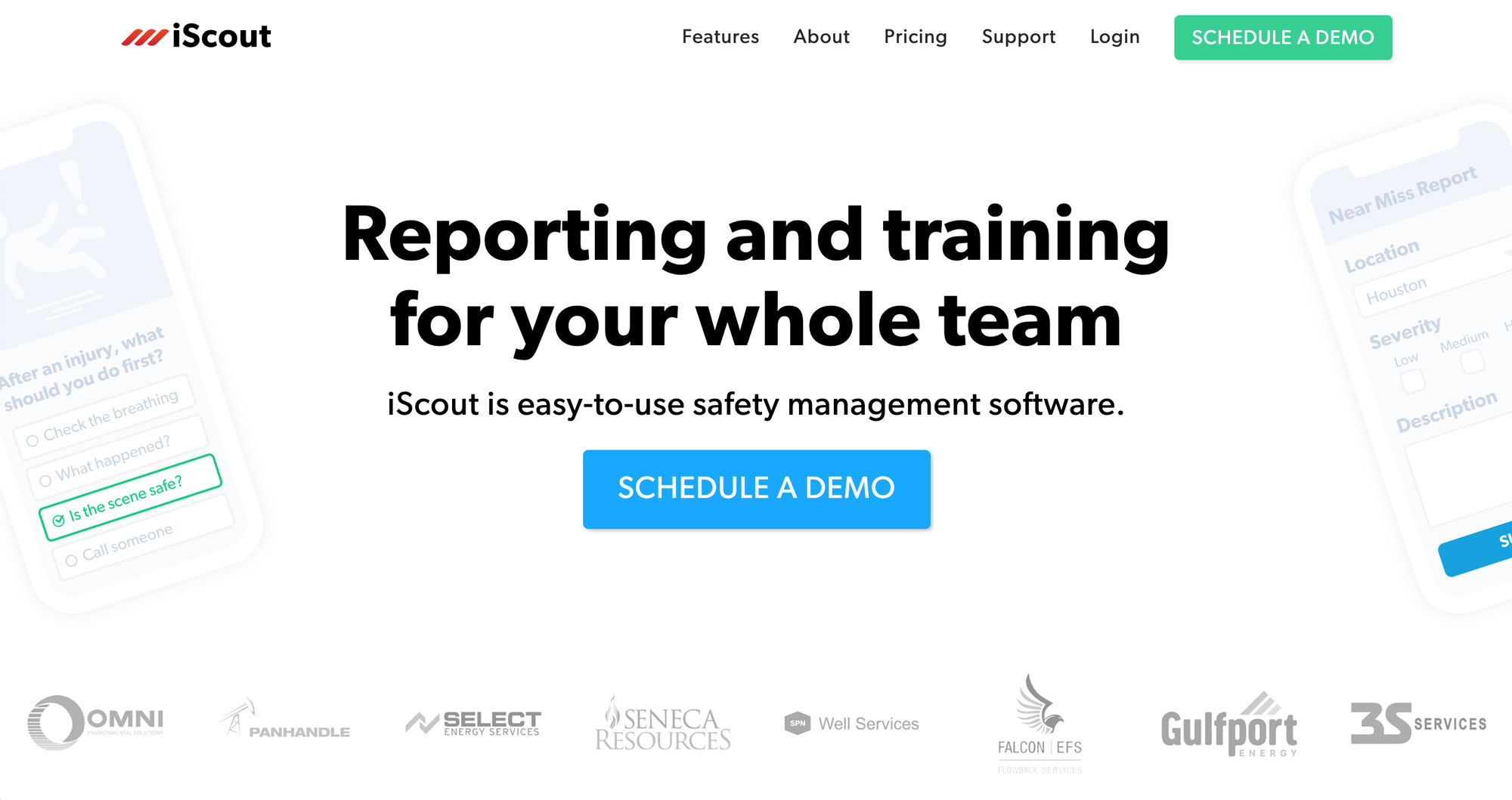 iScout EHS Screenshot