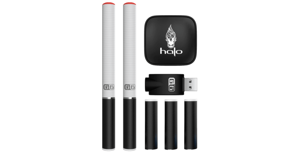 G6 E-Cigarette Starter Kit suitable for those looking to switch to e-cigarette from smoking. Comes with Easy to fill cartomizers and durable vape batteries.