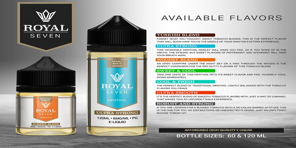 ROYAL SEVEN E LIQUID