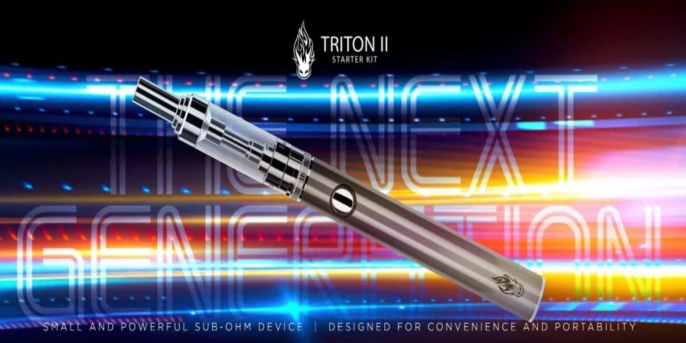 e cig kit - triton II Jostech Vape