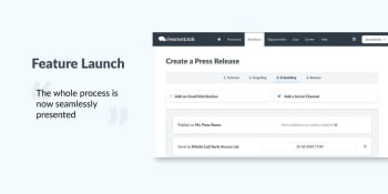 Creating press releases just got smoother