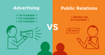 Advertising Vs PR. What is the difference?