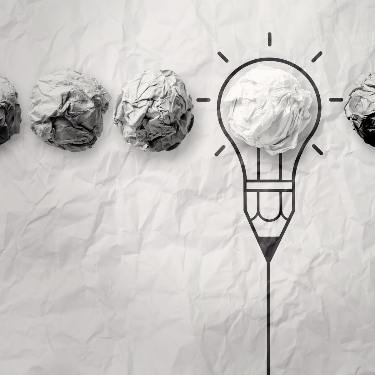 Don't wait to perfect your marketing ideas