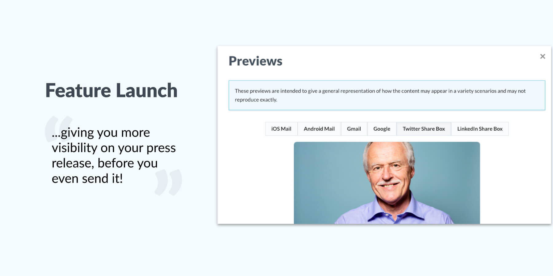 See your press release in a whole new light