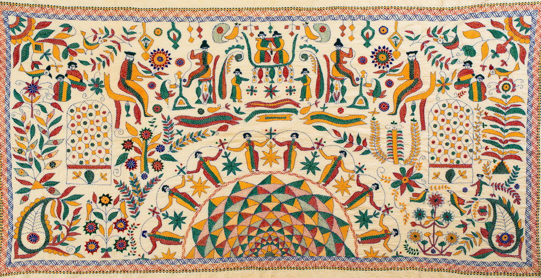 বাংলার এক ঐতিহ্য : নকশি কাঁথা