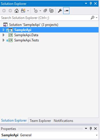 Sample API Project Structure