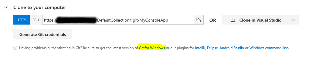 Get Git for Windows