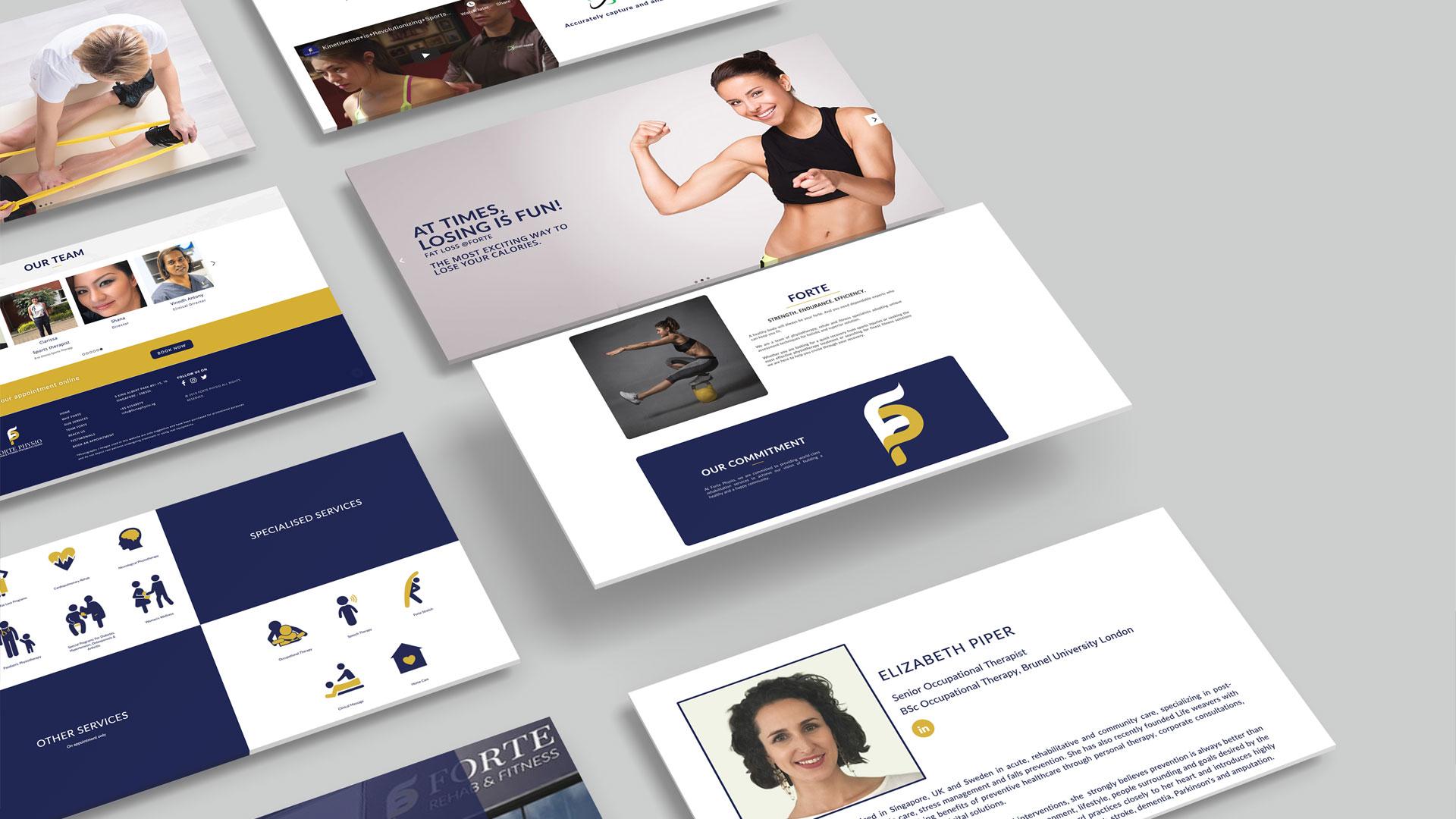 Forte Physio Website
