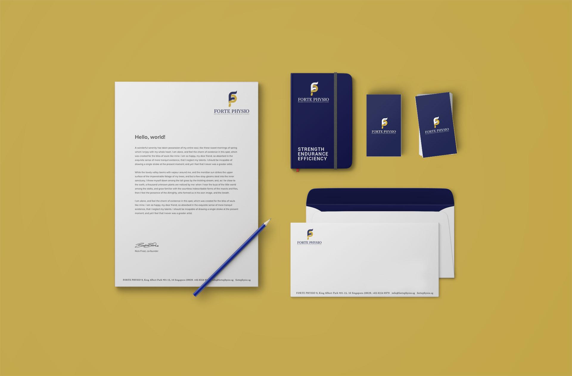 Forte Physio Branding