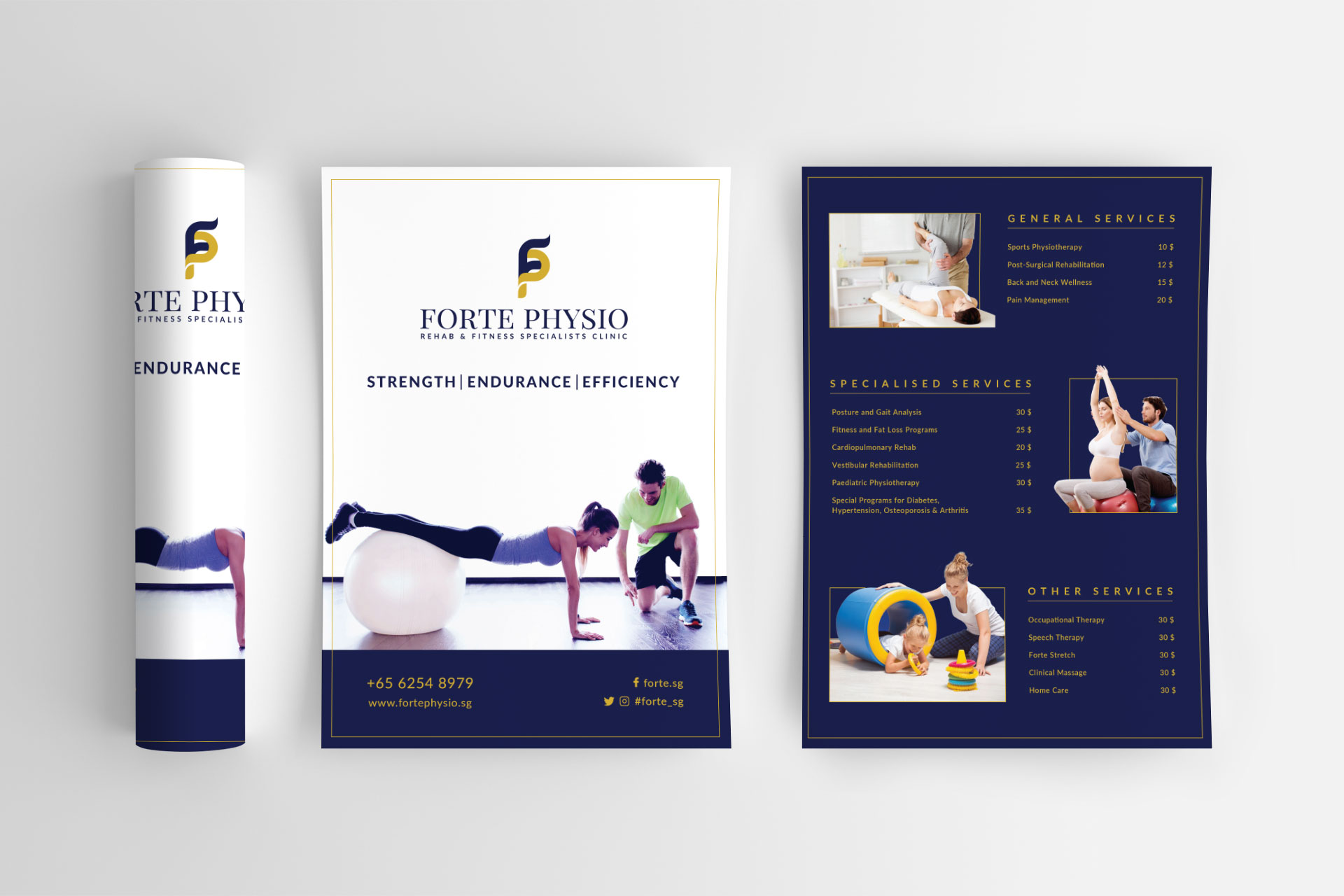 Forte Physio Flyer