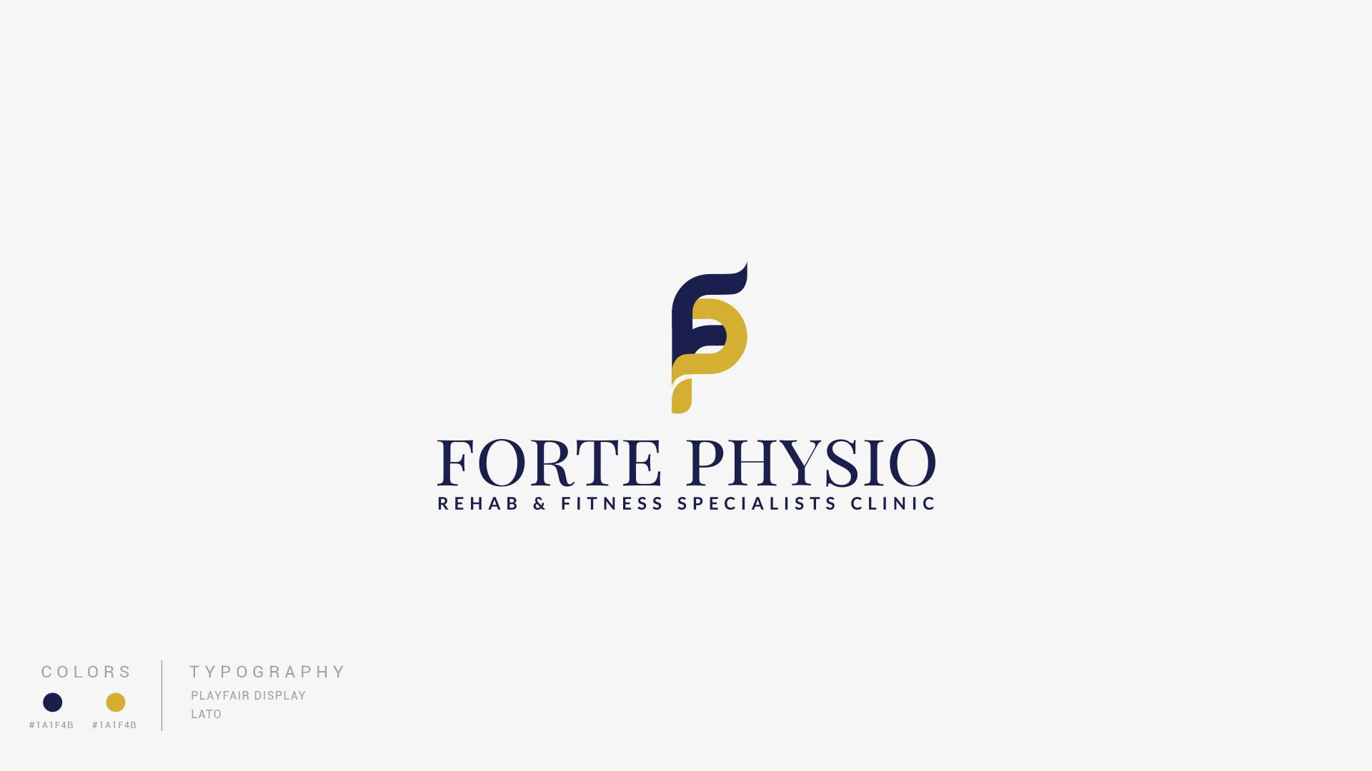 Forte Physio Logo