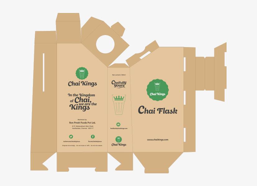 Chai Kings Flask Wrapper