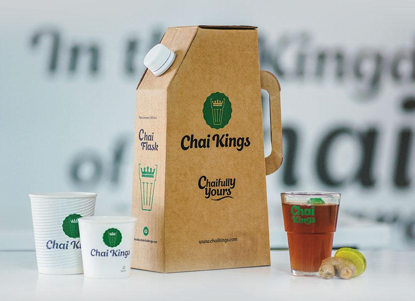 Chai Kings Flask