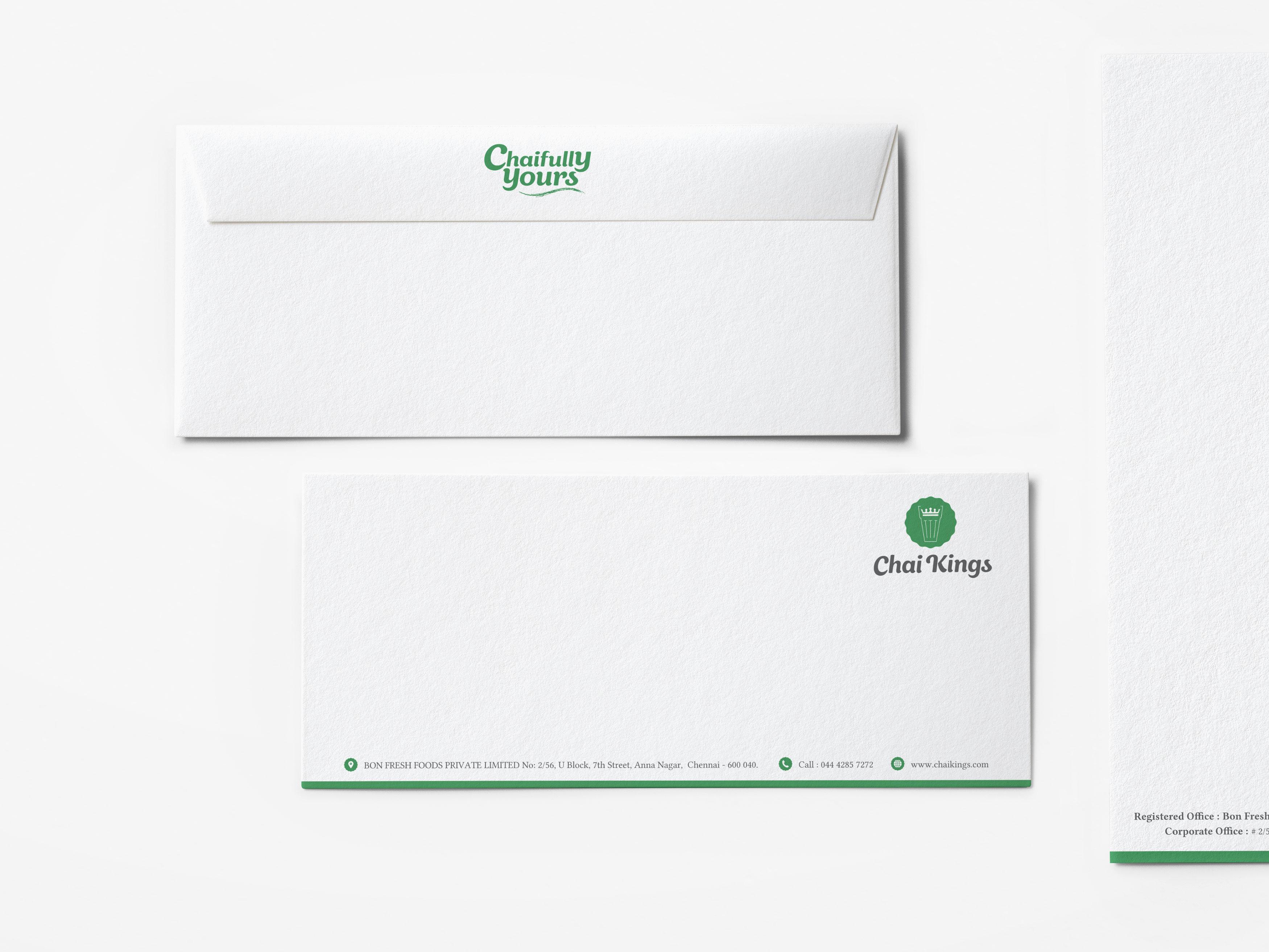 Chai Kings Envelope