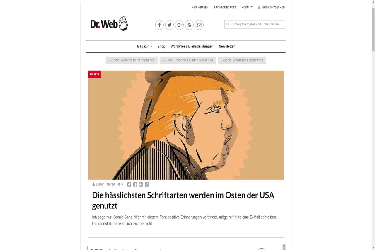 Dr. Web Vorschaubild