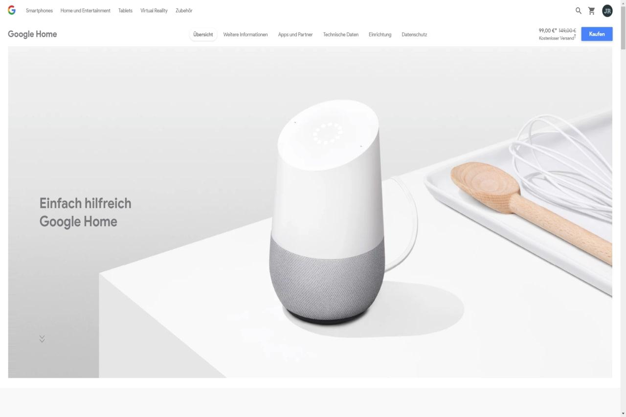 Google Home - Erste Eindrücke Vorschaubild