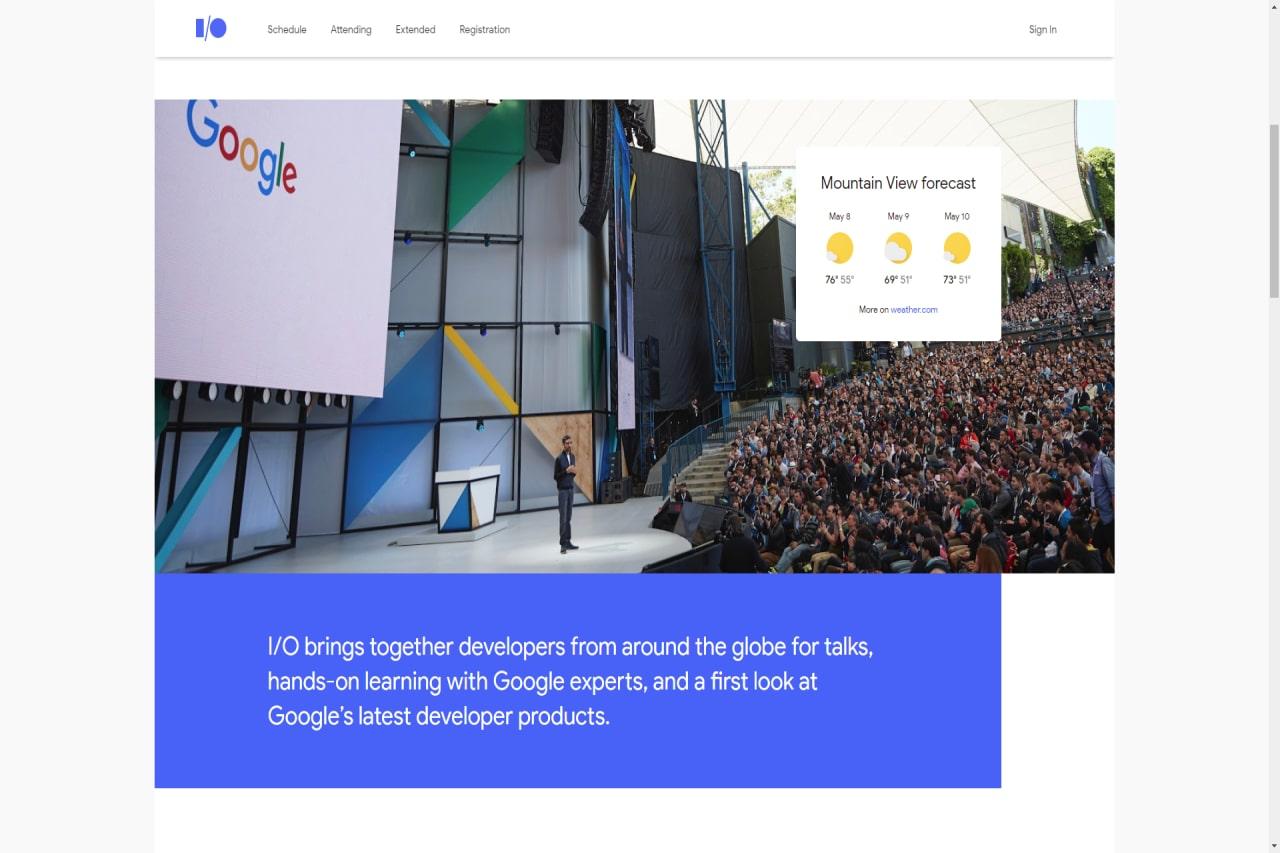 Google I/O 2018 Vorschaubild