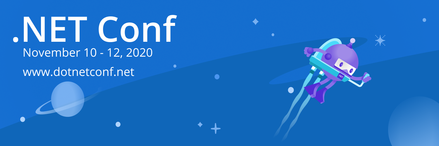 .NET Conference 2020 banner