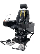operator chair systems and seats