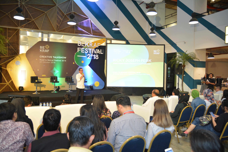 Creative Talkshow <br>BEKRAF FESTIVAL 2018
