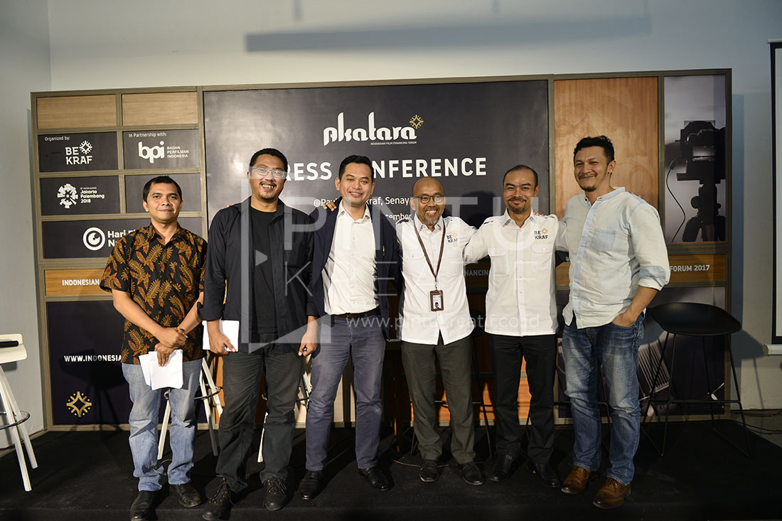 Press Conference Bekraf Akatara 2017