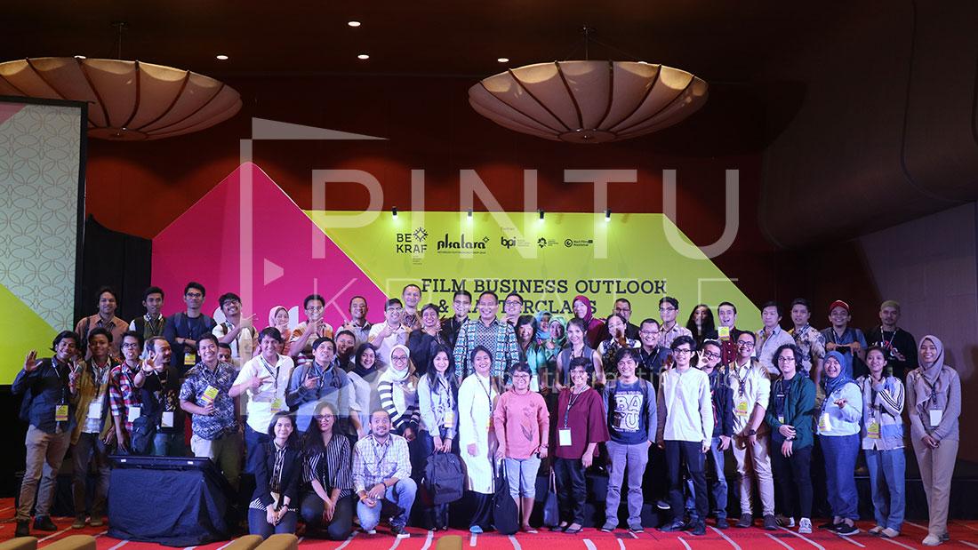 BEKRAF Akatara 2018 Film Business Masterclass