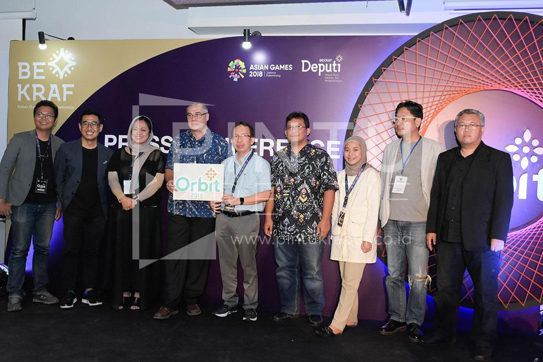 Press Conference Orbit 2018
