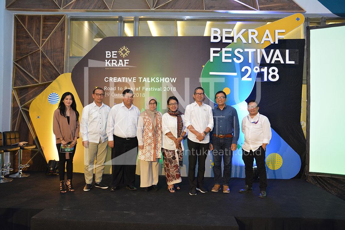 Press Conference Bekraf Festival 2018