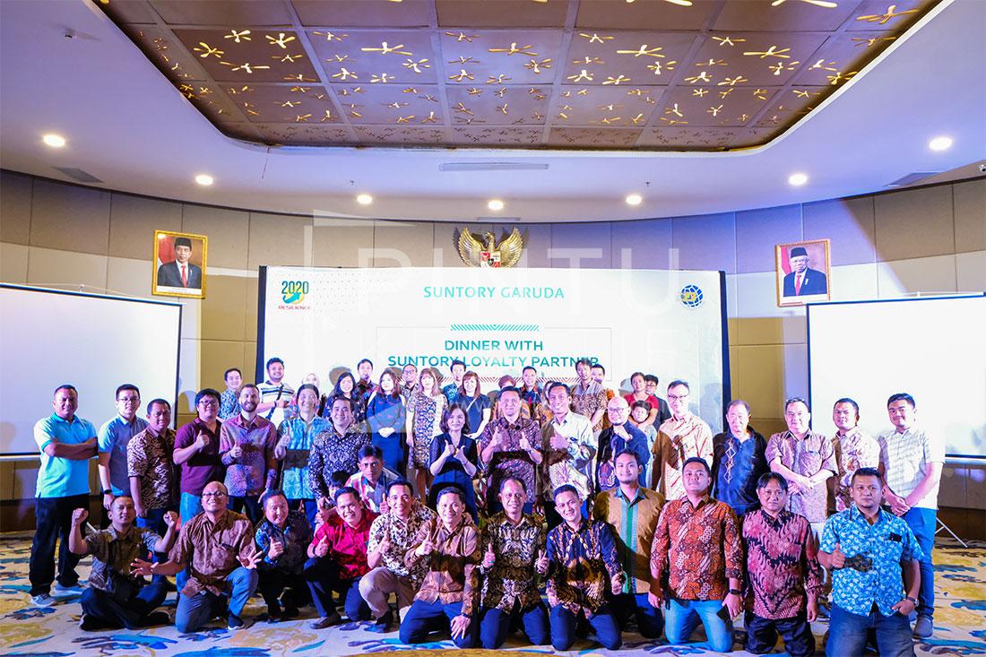 Suntory Garuda Loyalti Partner Gathering Bogor 2020